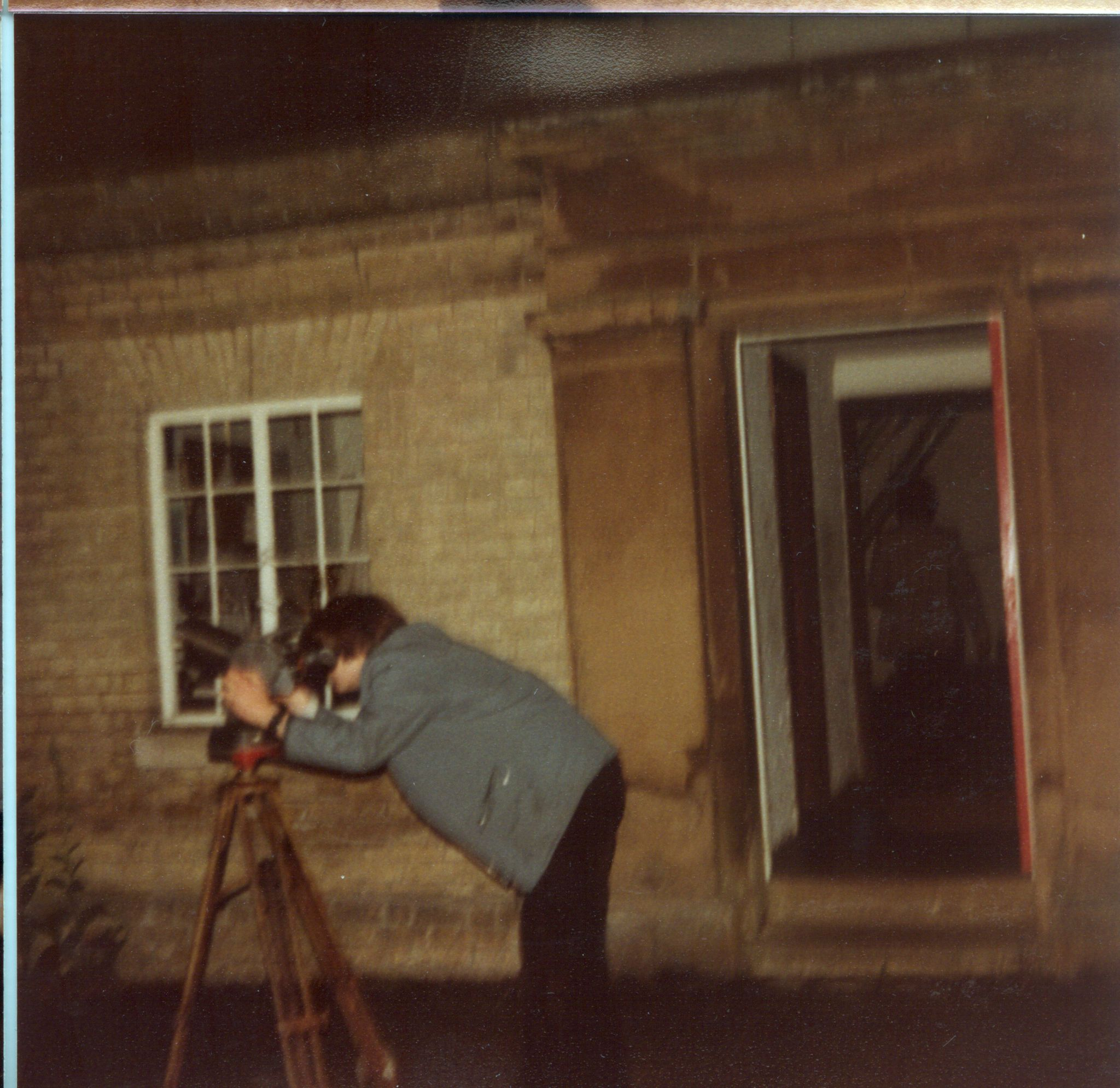 Observing outside Northumberland in 1983